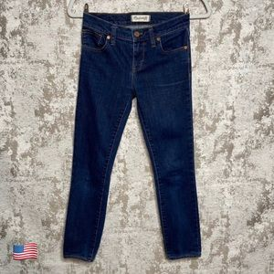 Madewell Mid Rise Skinny Skinny Jeans in Quincy